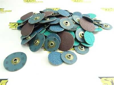 "New! Large Lot Of Assorted Quick Change Discs 1-1/2"" & 2"" 40 & 50 Grits"