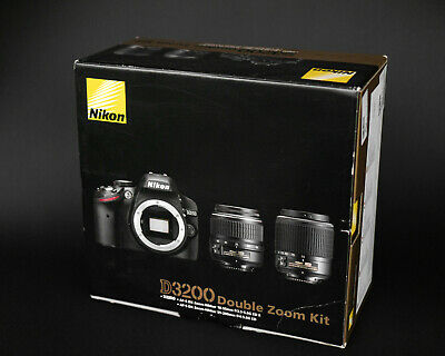 Nikon D3200 Double Zoom Kit black
