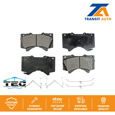 Front And Rear Ceramic Brake Pads For Toyota Tundra Sequoia Land Crusier