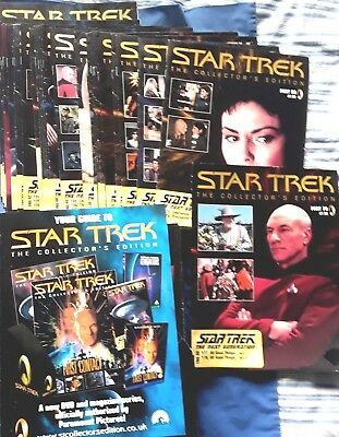 Star Trek Tng: Complete Magazine Collection (2006) Vg 1-70