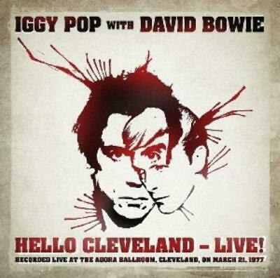 Iggy Pop & David Bowie : Hello Cleveland - Live CD Expertly Refurbished Product