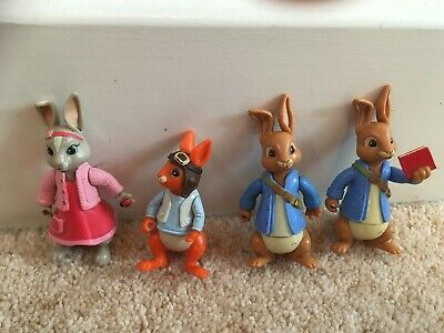 Peter Rabbit And Friends Toy Figure Bundle Lily Squirrel Nutkin