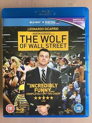 Leonardo Dicaprio In The Wolf Of Wall Street On Blu-Ray Disc 18
