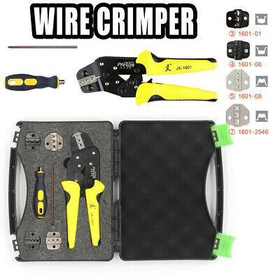 Self-adjustable Compact Insulated Wire Crimper Tool With 5 terminals