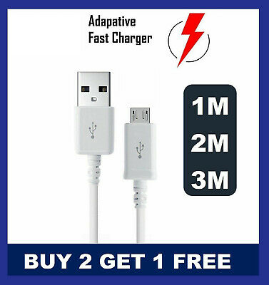 For Samsung Galaxy S3 S4 S5 S6 S7 EDGE PLUS Fast Charger USB Cable