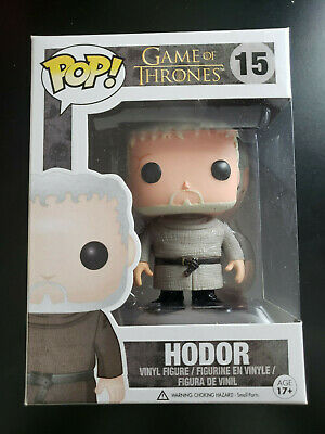 Funko Pop Hodor HBO Game of Thrones #15 Hold the Door VAULTED Vinyl Figure