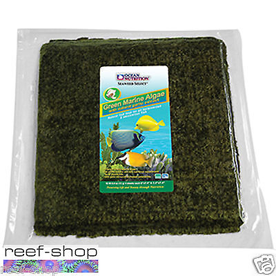 Ocean Nutrition Seaweed Select Green Marine Algae Fish Food, 50 sheets