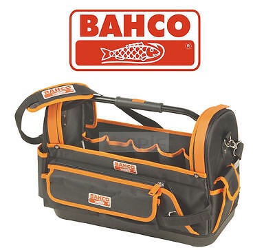Bahco 4750FB1-19A 47cm Base Dure Ouvert Fourre-Tout Multi Poches Stockage Outil