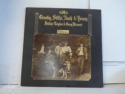 "CROSBY STILLS NASH YOUNG ""DEJA VU"" ATLANTIC SD-7200 1970 TEXTURED   MORE LPs   P"