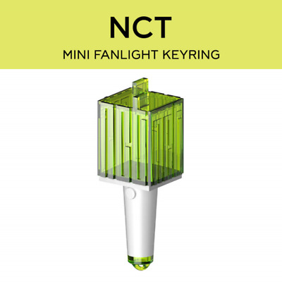 PRE-ORDER NCT FAN LIGHT LIGHTSTICK MINI KEYRING SM Official MD + Tracking No.