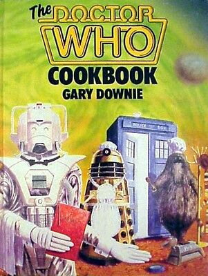 DOCTOR WHO Vintage 1986 COOKBOOK by Gary Downie (MINT) Bon Appetit!