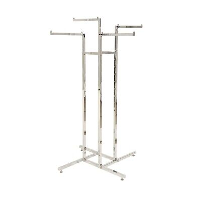 Clothing rack / 4 Way With 4 Straight Arms
