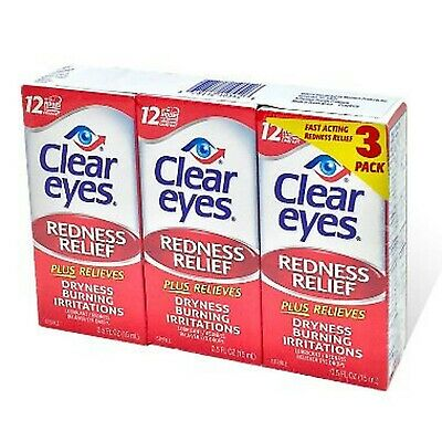 Clear Eyes Maximum Redness Relief Eye Drops | Also Relieves Drying, Burning &...