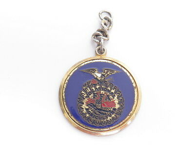 Vintage FFA Future Framers of America Vocational Agriculture Pendant FOB A912