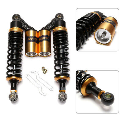 Pair 320mm 12.5'' Eye to Eye Rear Air Shock Absorber Suspension Damper Universal