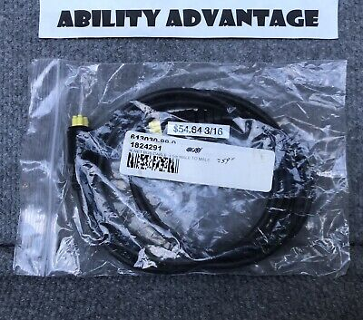 """NEW. Permobil RNET BUS CABLE, 1.5M, (59"""" long) MALE to MALE."""