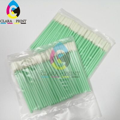 2pcs/pack Clean Swab (Sponge stick) for Epson Roland Mimaki Mutoh  Printhead