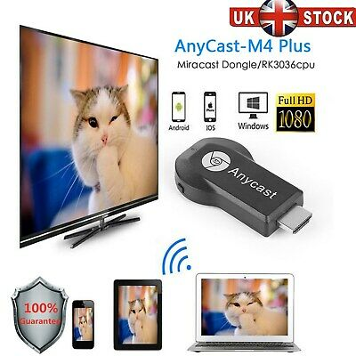 M HDMI TV Anycast m9 ezcast miracast Any Cast AirPlay Crome Cast Cromecast EASY