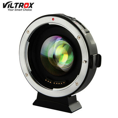 Viltrox EF-M2 AF Auto-focus EXIF 0.71X Reduce Speed Booster Lens Adapter Turbo