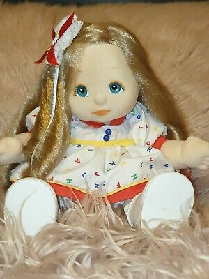 ♡My Child Doll♡ Ash Side Part Ringlet Fully Dressed In Abc Outfit♡