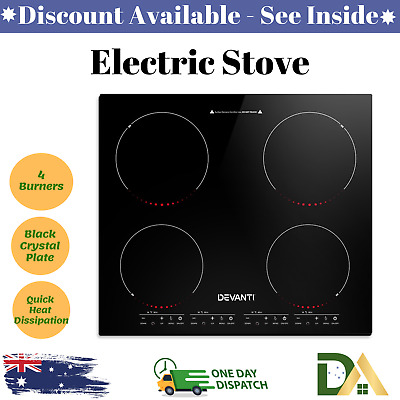 5-STAR CHEF ELECTRIC Induction Cooktop Portable Kitchen Cooker