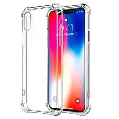 Funda Gel TPU Silicona Flexible Cubierta Trasera Antigolpes para iPhone XR