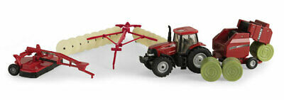 Ertl 44078 1:64 Case IH Haying Playset