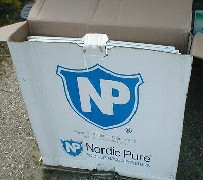 Nordic Pure Furnace Filters - 20 X 25, 6 Pack