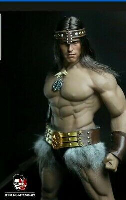MR.TOYS 1/6 Conan Head & Suit Set 12'' Male Figure Outfit Accessory not hot toys