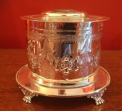 Mappin & Webb Victorian Ice/Buscuit Box 1880