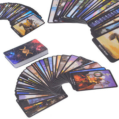 AU 78Pcs Tarot Deck Cards Read The Mythic Fate Divination For Fortune Card Game