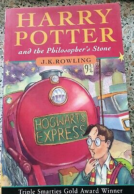 Harry Potter and the Philosopher's Stone by J.K Rowling (1997, paperback) 1st Ed