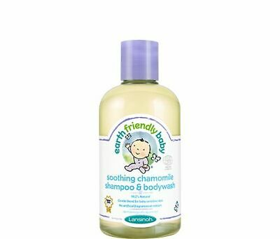 Earth Friendly baby Shampoo and Bodywash 250ml - Soothing Chamomile