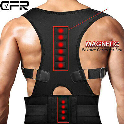 Magnetic Therapy Posture Corrector Lower Back Support Shoulder Pain Belt Brace