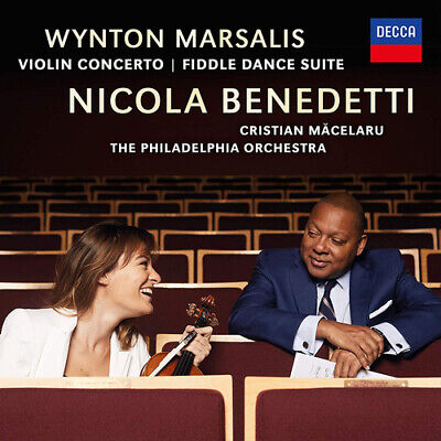 Wynton Marsalis : Wynton Marsalis: Violin Concerto/Fiddle Dance Suite CD (2019)