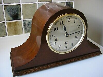 CLASSIC ENGLISH 1940's 'COCKED HAT' CLOCK (CONVERTED)