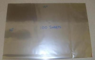 800+ Large Food Grade Cellophane Sheets Gift Wrapping