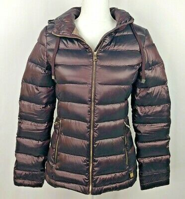 NEW WOMEN/'S ANDREW MARC HOODED PACKABLE LIGHTWEIGHT PREMIUM DOWN JACKET VARIETY