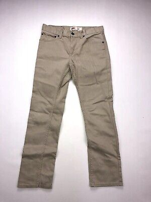 LEVI'S 511 Slim Jeans - W29 L29 - Beige - Great Condition - Boy's