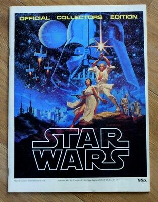 STAR WARS Official Collectors Edition magazine Vintage 1977 Marvel International