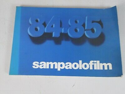 SAMPAOLO FILM 198/85 CATALOGO 16 mm CINEMA