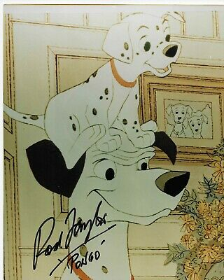 Rod Taylor as Pongo in Disney 101 Dalmatians Signed Autograph 8x10 Photo COA