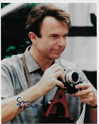 Sam Neill Hand Signed In Person Authentic Autograph 8x10 Color Photo with COA