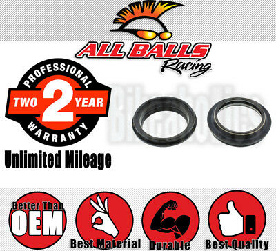 All Balls Racing Fork Dust Cap Set for Yamaha Scooters