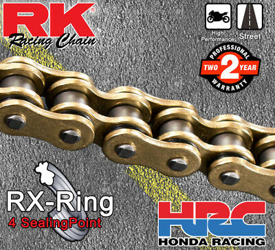 Motorcycle Drive Chain 520-106 Gold for Kawasaki EX250R Ninja EX 250R 250 2010-1