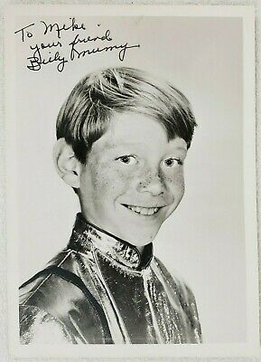 Billy Mumy Lost in Space Will Robinson Signed Personalized Autograph 5x7 Photo