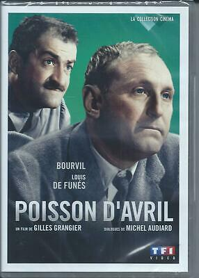 DVD Poisson d'avril Bourvil, Louis de Funès Neuf sous cellophane