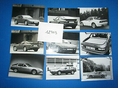N°12703 / PORSCHE 924 : 9  photos d'epoque 1976-1983-1988