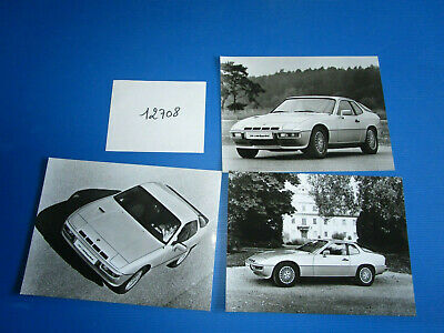 N°12708 / PORSCHE 924 turbo  : 9  photos constructeurs