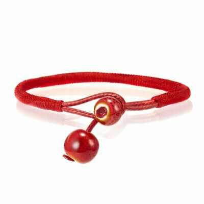 Fashion Lucky Red Rope Charm Women Bracelets String Adjustable Unisex Woven Gift